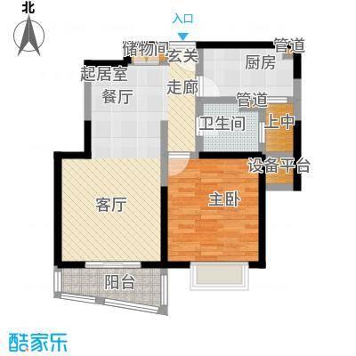 浦发广场83.34㎡房型: 一房; 面积段: 83.34 -83.34 平方米; 户型