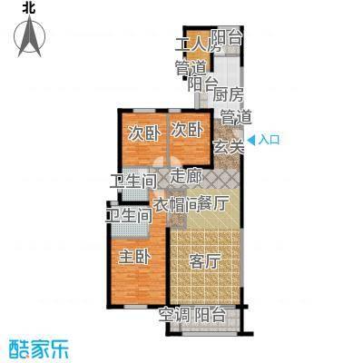 老西门新苑150.00㎡房型户型