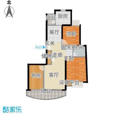 玲珑古北新贵族名邸126.00㎡房型户型