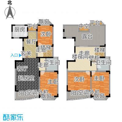 新理想家园一期房型: 复式; 面积段: 176.46 -251.88 平方米; 户型