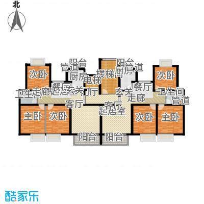 新梅共和城一期101.00㎡房型: 三房; 面积段: 101 -137 平方米;户型
