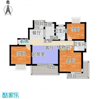 一品新筑一期112.00㎡房型: 三房; 面积段: 112 -133.29 平方米; 户型