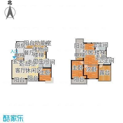 良辰美景三期169.00㎡房型: 复式; 面积段: 169 -211 平方米;户型