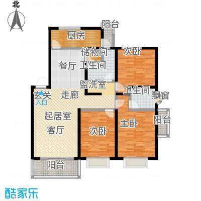 佳泰花园112.47㎡房型: 三房; 面积段: 112.47 -138.1 平方米; 户型