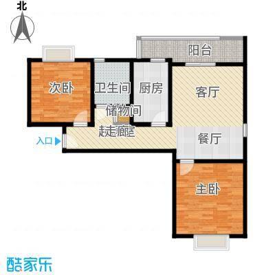 好世鹿鸣苑90.00㎡二房二厅一卫-90-100平米-33套户型
