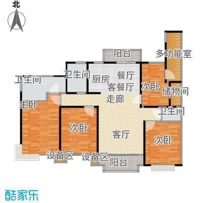 金铭福邸四期110.00㎡房型: 三房; 面积段: 110 -147 平方米;户型