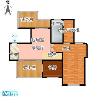 东苑米蓝城一期200.00㎡房型: 复式; 面积段: 200 -215 平方米;户型
