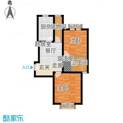 名仕世家花苑二期74.84㎡房型: 一房; 面积段: 74.84 -74.84 平方米;户型
