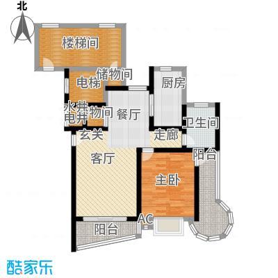 万景园(三期)90.00㎡房型: 一房; 面积段: 90 -90 平方米;户型