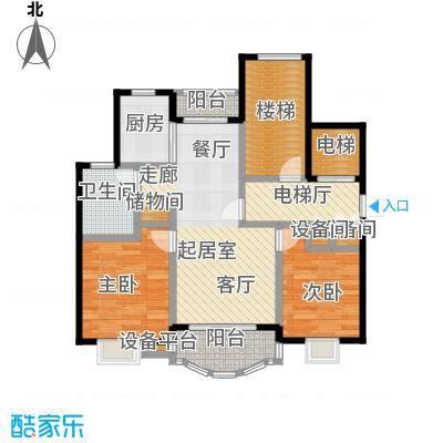 明丰阳光苑84.00㎡房型户型