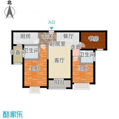 远洋香奈新品G户型3室2卫1厨