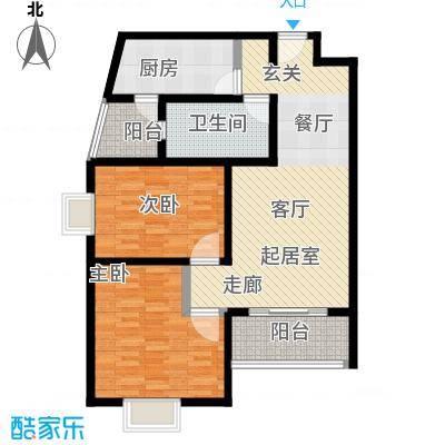 明珠家园95.00㎡房型: 二房; 面积段: 95 -115 平方米; 户型