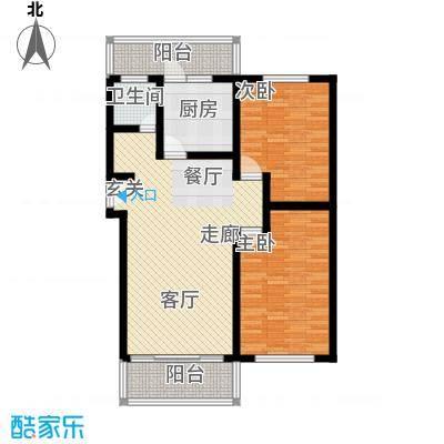 新普盛公寓92.00㎡房型: 二房; 面积段: 92 -100 平方米;户型