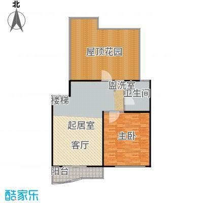 景华世纪园132.00㎡房型: 三房; 面积段: 132 -136 平方米;户型