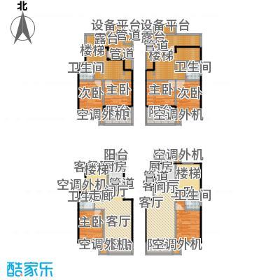 玉华东苑140.00㎡房型: 复式; 面积段: 140 -170 平方米;户型