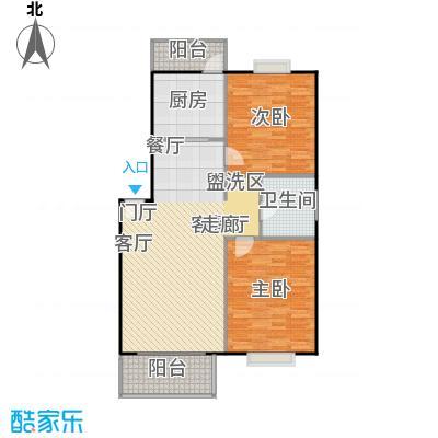 玉华东苑99.50㎡房型: 二房; 面积段: 99.5 -99.5 平方米;户型