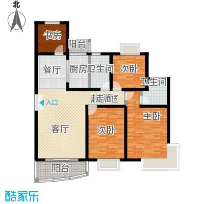 宝业馨康苑二期131.55㎡房型: 四房; 面积段: 131.55 -131.55 平方米;户型