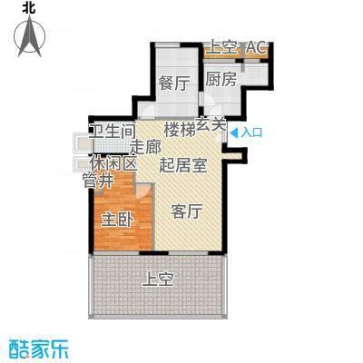 永新花苑三期200.00㎡房型: 复式; 面积段: 200 -250 平方米;户型