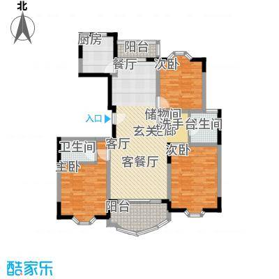 鑫龙苑一期109.00㎡房型: 三房; 面积段: 109 -147 平方米;户型