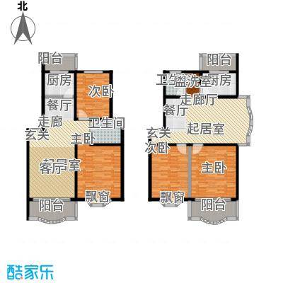 昌鑫时代绿园一期90.00㎡房型: 二房; 面积段: 90 -90 平方米;户型