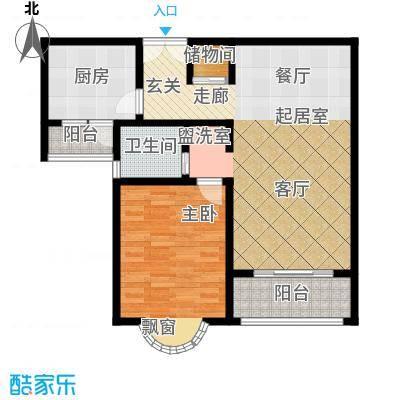 静安桂花园81.50㎡房型: 一房; 面积段: 81.5 -81.5 平方米; 户型