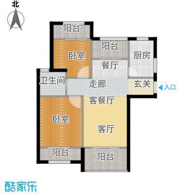 天居玲珑湾公寓C1户型1厅1卫1厨
