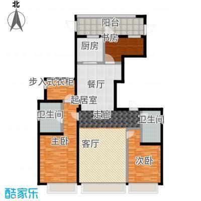 上海星光域墅景洋房-W户型3室2卫1厨