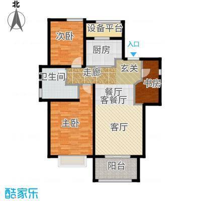 宁兴上尚湾C户型3室1厅1卫1厨