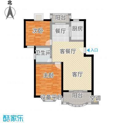 住友嘉馨名园97.00㎡房型: 二房; 面积段: 97 -99 平方米; 户型