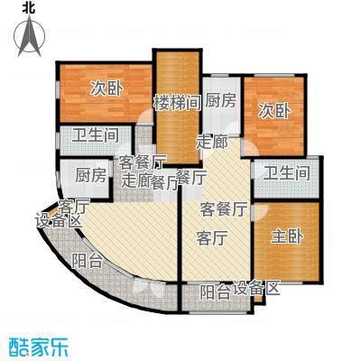 荣鑫公寓83.00㎡房型: 一房; 面积段: 83 -106 平方米; 户型