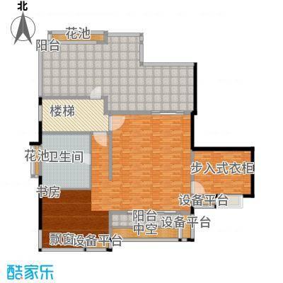 万源城逸郡220.00㎡房型: 复式; 面积段: 220 -270 平方米; 户型