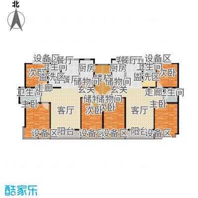 金榜世家六期118.00㎡房型: 三房; 面积段: 118 -128 平方米;户型