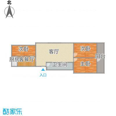 标山意福苑6楼1-601.130平的户型图