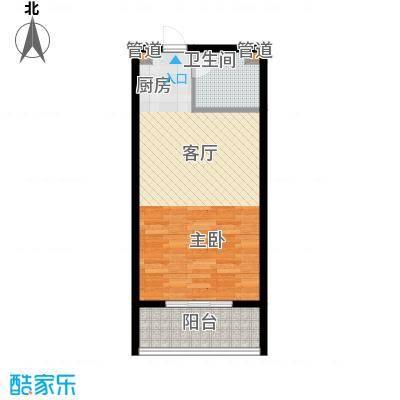康馨雅苑46.00㎡面积4600m户型