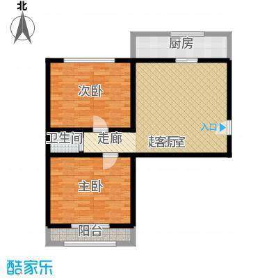 交通局宿舍78.00㎡面积7800m户型
