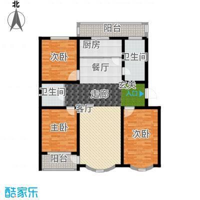 纯粹家园147.00㎡面积14700m户型