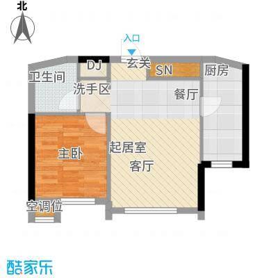 嘉润蓝湾E户型