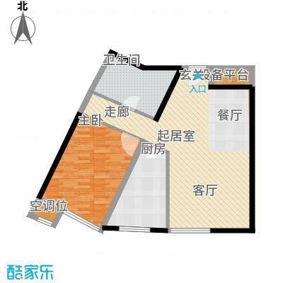 嘉润蓝湾G'户型