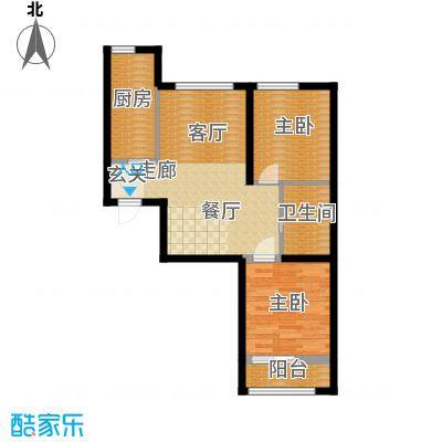 水岸荣华6#/7#楼L4户型