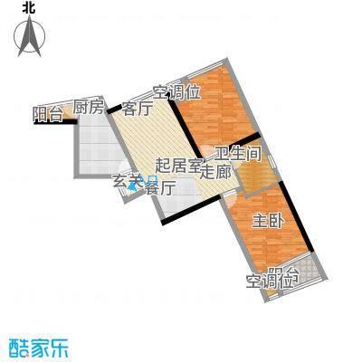 嘉润蓝湾F户型