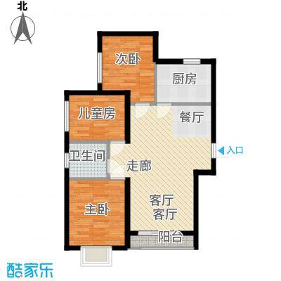 水岸荣华6#/7#楼L1户型