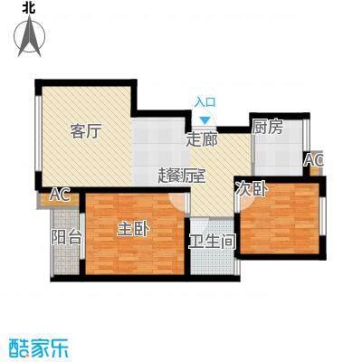 昱海澜湾CD区H户型