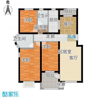 鸿福嘉苑A1户型