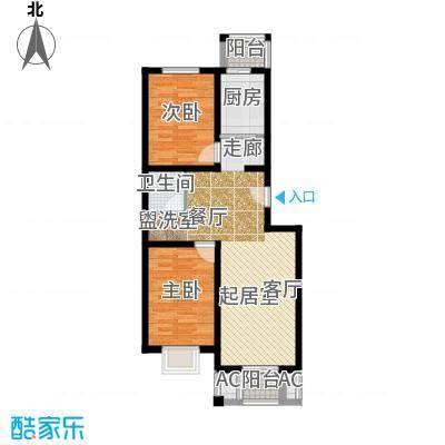 鸿福嘉苑B1户型