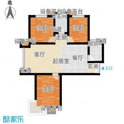 馨港郦景1号楼A户型