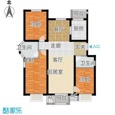 鸿福嘉苑A2户型