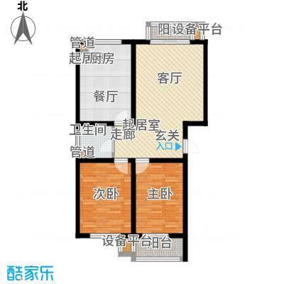 馨港郦景3号楼C户型