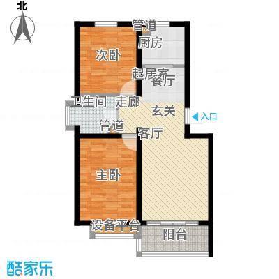 馨港郦景4号楼A户型