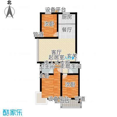 馨港郦景2号楼A户型