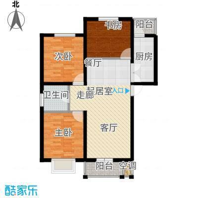唐冶凤凰城101#C2`户型
